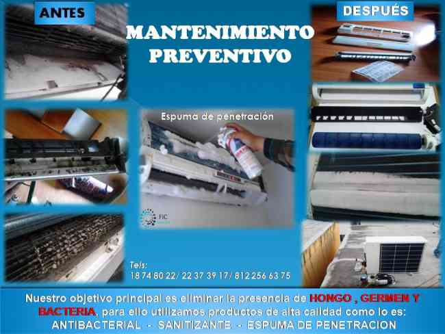 Mantenimiento E Instalaci 211 N Minisplit Cumbres Mitras